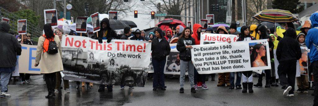 De-escalate Washington Rally